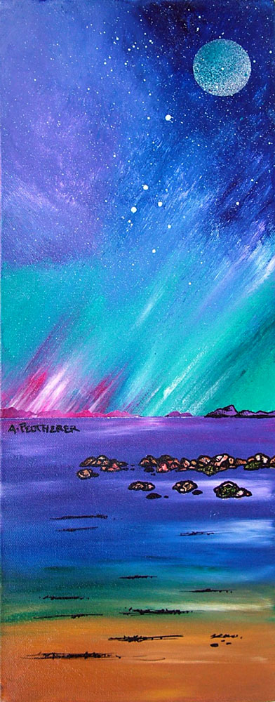Scottish painting and prints of South Uist, Hebrides, Scotland